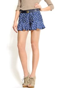 Mango polka dot shorts