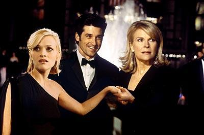 Reese Witherspoon , Patrick Dempsey and Candice Bergen in Touchstone's Sweet Home Alabama