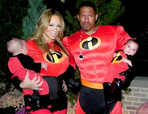 Mariah Carey, Nick Cannon and Twins Dress Up as Disney's The Incredibles