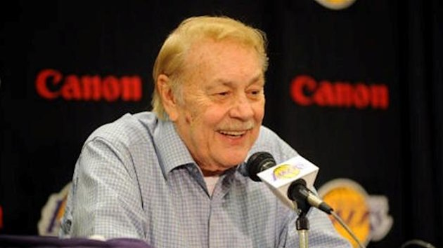 Lakers owner Jerry Buss