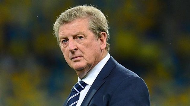 Roy Hodgson made the joke at half-time in England's game against Poland at Wembley