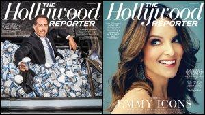 Tina Fey, Jerry Seinfeld Share Split Cover of The Hollywood Reporter's Emmys Issue (Poll)