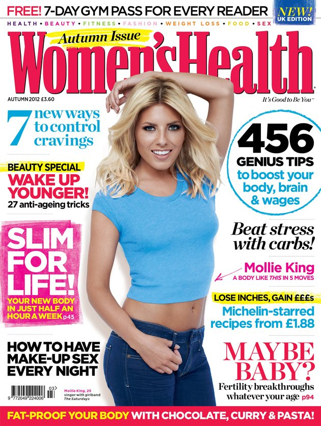 Mollie King, Olympics, Women's Health