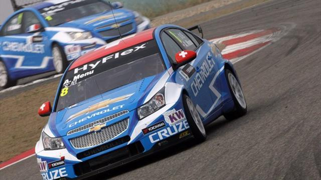 WTCC - Menu claims pole in Macau