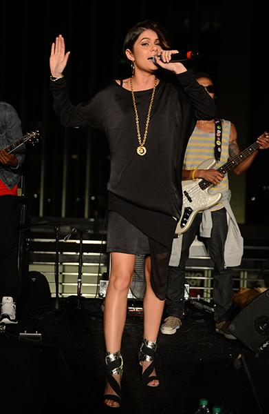 Performing at the BET Music Matters Showcase