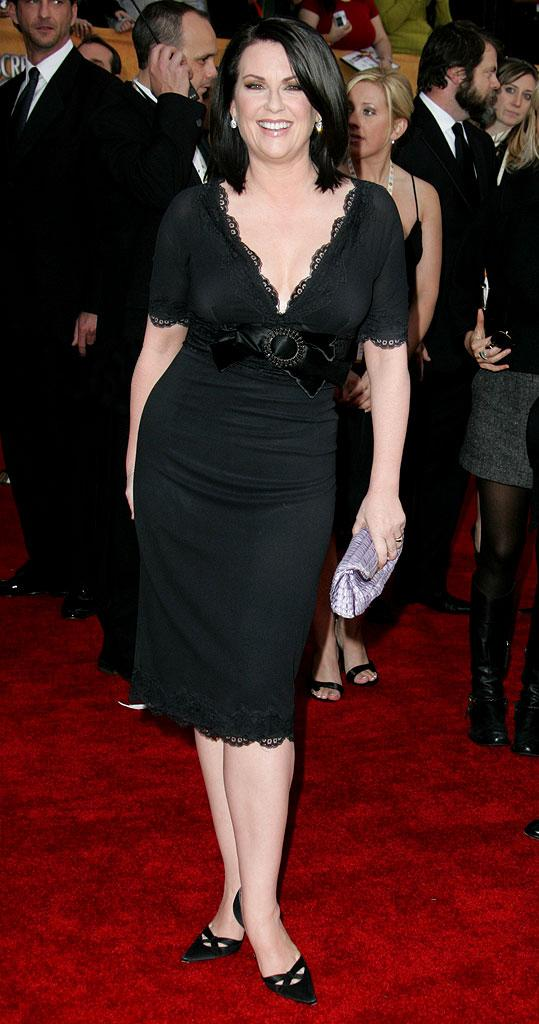 Megan Mullally at the 13th Annual Screen Actors Guild Awards.
