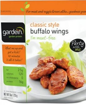 Gardein's Classic Buffalo Wings
