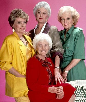 Rue McClanahan, Bea Arthur, Estelle Getty and Betty White 'The Golden Girls' on Lifetime Golden Girls