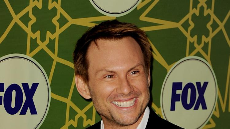 "Christian Slater (""Breaking In"") attends the 2012 Fox Winter TCA All-Star Party at Castle Green on January 8, 2012 in Pasadena, California."