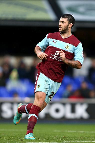 Sean Dyche is keen for contract talks with a number of players including Charlie Austin, pictured