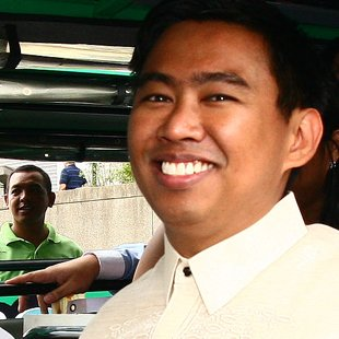 Makati Mayor Junjun Binay (Voltaire Domingo, NPPA Images)
