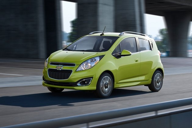 Chevrolet Spark: Looks great. No wonder it's a movie star.