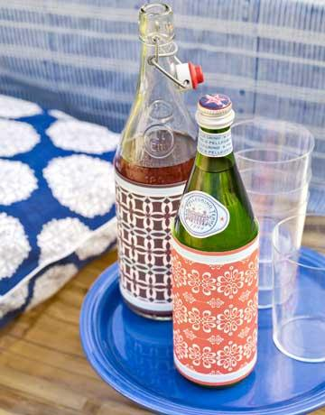 Dress Up Bottles in One Minute Flat