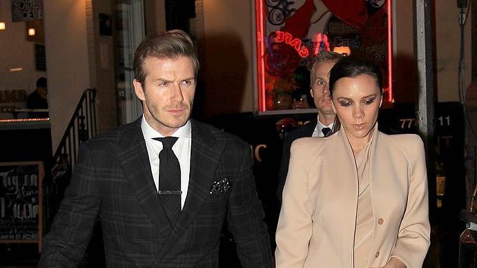 David Victoria Beckham Valentines Day Dinner