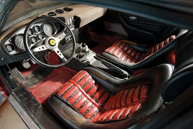 1971 ferrari daytona condo find interior photo