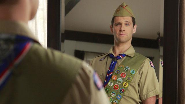 Justin Bartha Goes Scouting For 'Normal'