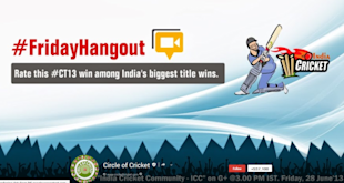 Top 20 Indian Business Pages On Google Plus 2013 image Circle of Criekt G  cover 1024x544