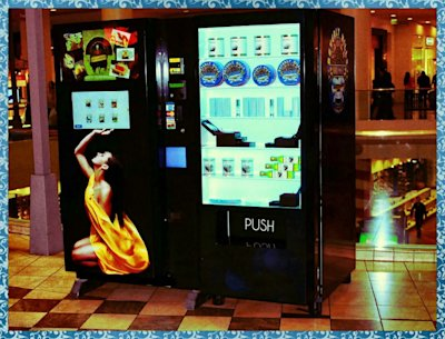 One of three caviar vending machine that opened this week in L.A. (Facebook)
