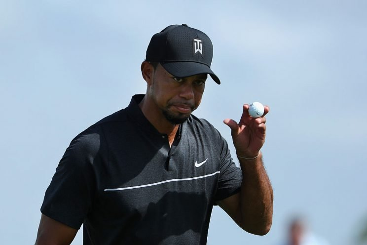 Tiger Woods returned to golf at the Hero World Challenge. (Getty)