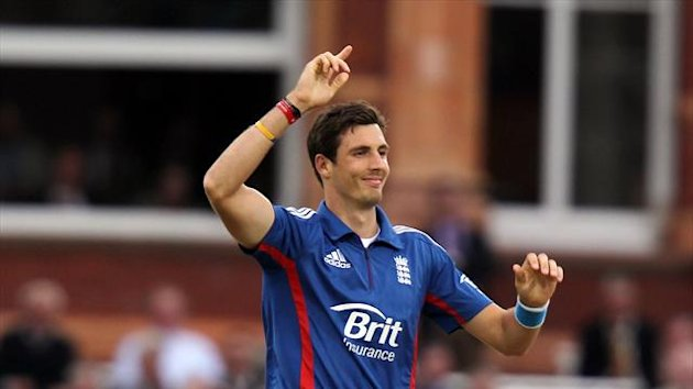 England's Steven Finn was the star performer as New Zealand were dismissed for 185