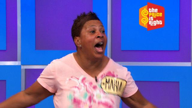 The Price Is Right - Maria is Crazy For Price!