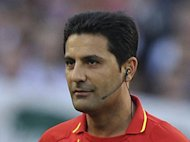 German referee Babak Rafati, pictured in 2011, has broken his silence over his reasons for attempting to commit suicide last November, just hours before he was due to officiate a Bundesliga match between Cologne and Mainz