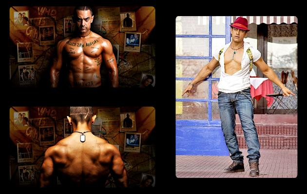 Aamir's different avatars
