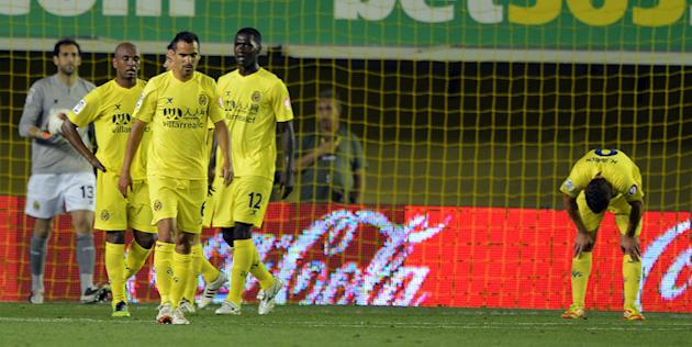 Villarreal's Players AFP/Getty Images