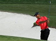Tiger Woods, pictured on April 8, will try to bounce back from a disappointing Masters at the US PGA Tour's Wells Fargo Championship at Quail Hollow May 3-6, organizers said Wednesday