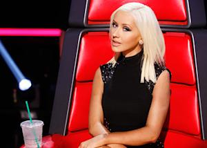 Christina Aguilera Continues to Show Off Impressive Weight Loss in Sexy Little Black Dress on The Voice