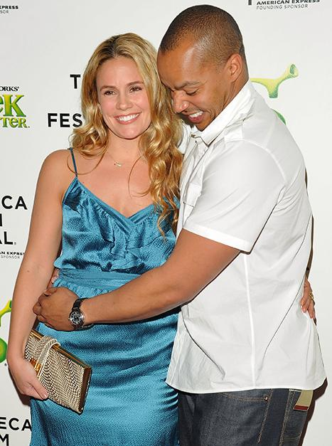 "Donald Faison on His Baby With Wife Cacee Cobb: ""It'll Be a Really Good Human Being When It's Older"""