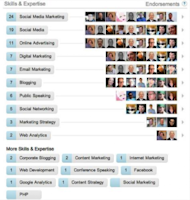 10 Sharp Ways to Boost the Visibility of Your LinkedIn Profile image endorsements 300x316
