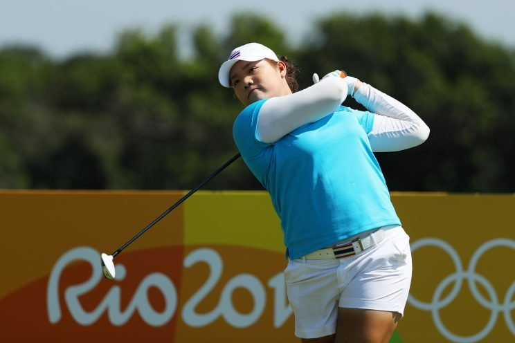 Ariya Jutanugarn set the pace on Day 1 in Rio. (Getty Images)