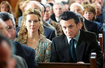 Laura Linney and Sean Penn in Warner Bros. Mystic River