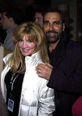 Crystal Bernard and Man Hugo House Sundance Film Festival 1/19/2001