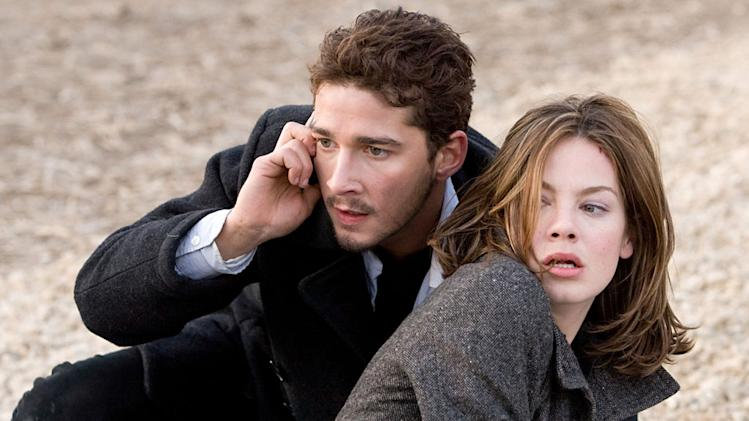 Shia LaBeouf Michelle Monaghan Eagle Eye Production Stills DreamWorks 2008