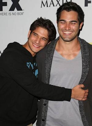 Tyler Hoechlin and Tyler Posey attends the Maxim, FX and Fox Home Entertainment Comic-Con Party at Andaz on July 13, 2012 in San Diego -- Getty Images