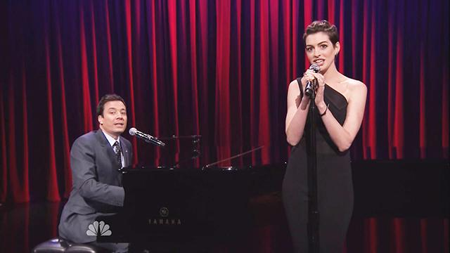 Hathaway Turns Rap Songs Into Show Tunes