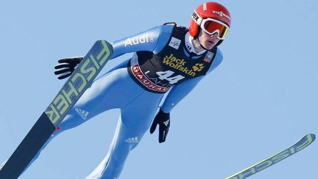 Ski Jumping - Freitag dominant in Lahti World Cup win
