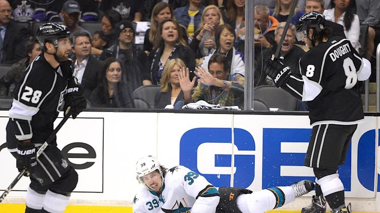 San Jose Sharks v Los Angeles Kings - Game Four