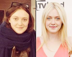 PIC: Dakota Fanning Goes Brunette!