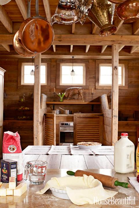 A Horse Stable Turned Kitchen