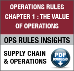 Ask the Chairman: Is It Possible to Create One Comprehensive Model of the Supply Chain? image Chapter1 OperationsRulesCTA3