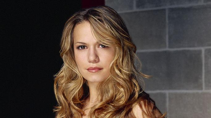 Bethany Joy Lenz stars as Haley James in One Tree Hill on The CW.