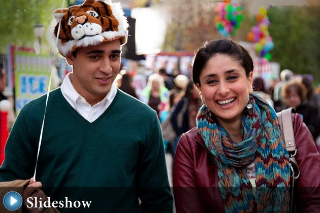 Imran and Kareena in 'Ek Main Aur Ek Tu'