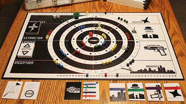 Fans Turn Inception Movie Into Board Game