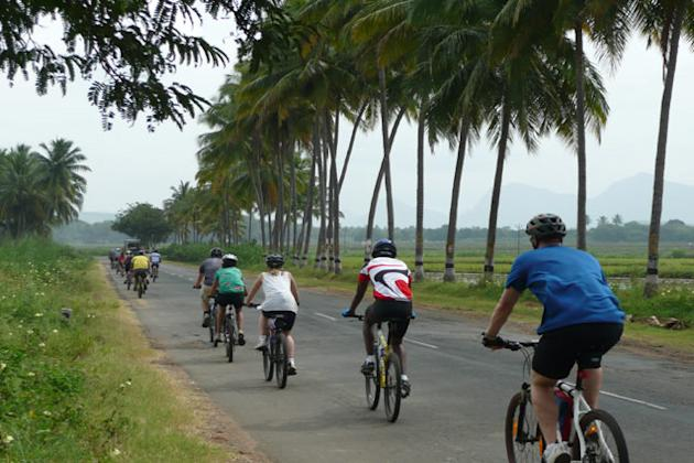 Cycle Through South India