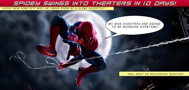 The Amazing Spider Man Comic Countdown