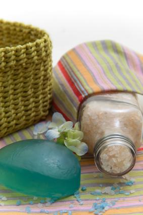 DIY SEA SALT BATH