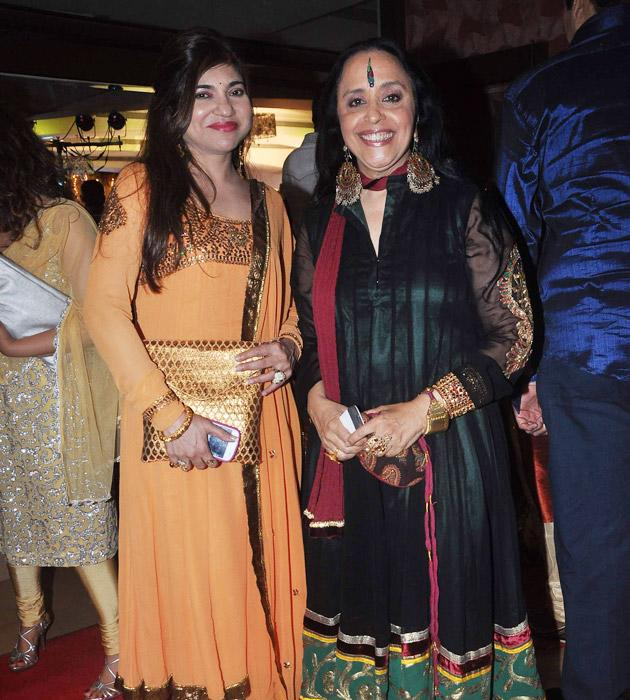 Look whom we spotted at Bappa Lahri's sangeet